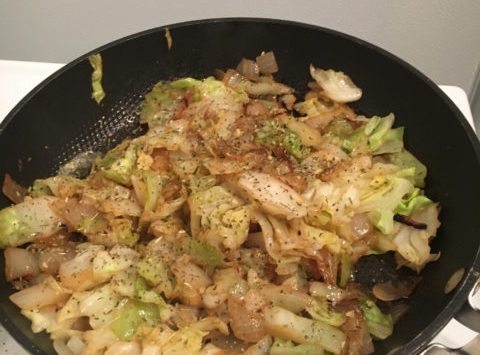 Asian Cabbage Stir Fry