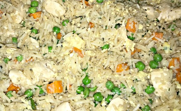 Fragrant Chicken Fried Rice